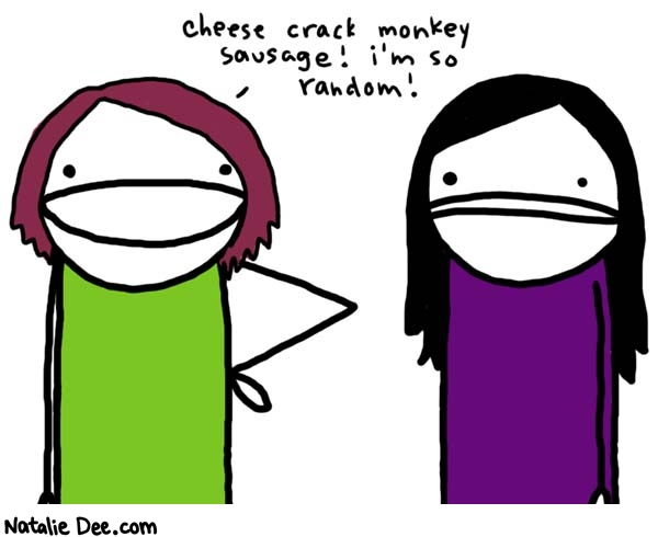 Natalie Dee comic: didnt we cover this already * Text: 