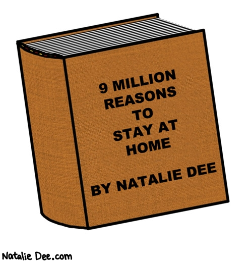Natalie Dee comic: REASON NUMBER ONE i got this book to read * Text: